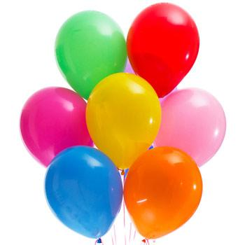 7 разноцветных шаров