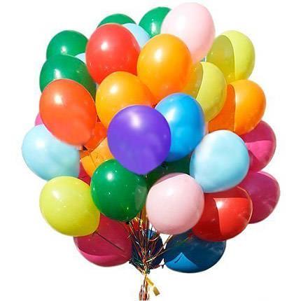 51 разноцветный шар