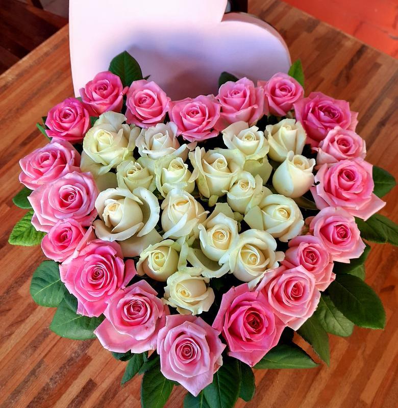 35 роз в сердце