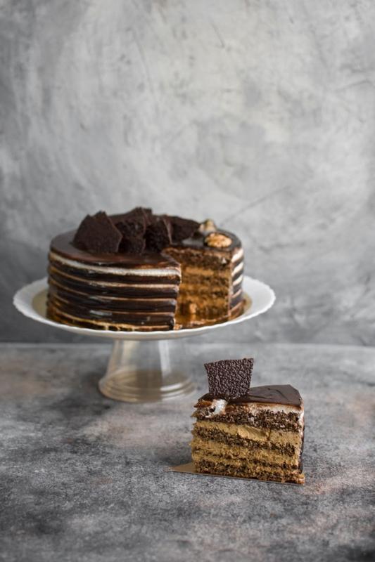 Торт «Горішки для Попелюшки»