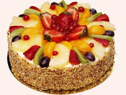 Фруктовы торт